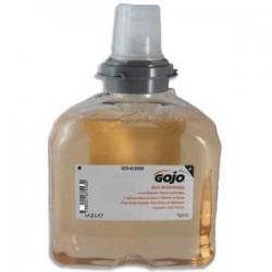 GOJO Recharge 1200 ml de Savon mousse mains Mild Antimicrobial pour distributeur TFX