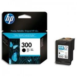HP Cartouche jet d'encre noir N°300 CC640EE