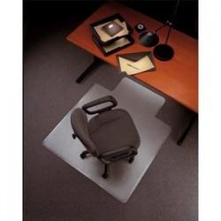 5 ETOILES Tapis protège-sol PVC pour sol dur transparent, format 121 x 92 cm, épaisseur 2,2 mm