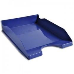 5 ETOILES Corbeille à courrier bleue - Polystyrène - Dimensions : L25,5 x H6,5 x P34,5 cm