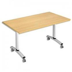 STB TABLE RECT 160X80 HE/ALU HV3-168HA