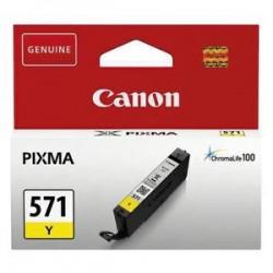 CANON cartouche jet d'encre CLI-571 jaune 0388C001AA