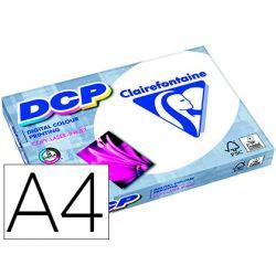 Papier clairefontaine multifonction laser couleur dcp a4 200g/m2 coloris blanc satine - ramette de 250