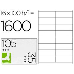 BTE 1600 ETIQ BLANCHES MULTI 105X35