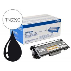 Toner laser brother TN3390 couleur noir 12000p