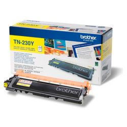 Toner laser brother TN230Y couleur jaune 1400p