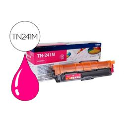 Toner laser brother TN241M couleur magenta 1400p