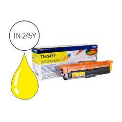 Toner laser brother TN245Y couleur jaune haute capacité 2200p
