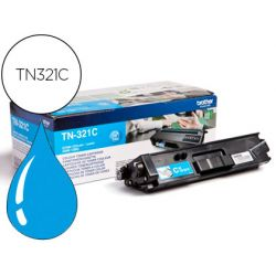 Toner laser brother TN321C couleur cyan 1500p