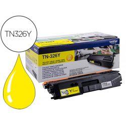 Toner laser brother TN326Y couleur jaune 3500p