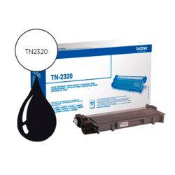 Toner laser brother TN2320 couleur noir haute capacité 2600p