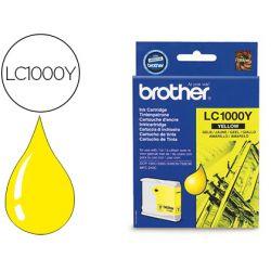 Cartouche brother jet d'encre LC1000Y couleur jaune 400p