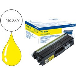 Toner laser brother Jaune TN423Y