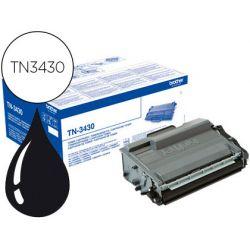 BROTHER cartouche Laser Noir TN3430