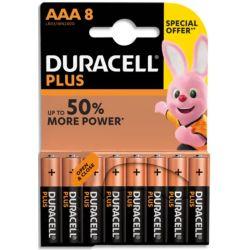 DURACELL Blister de 8 piles AAA 5000394062306