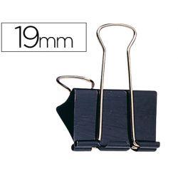 Pince q-connect double clip largeur 19mm boîte carton 10 unités