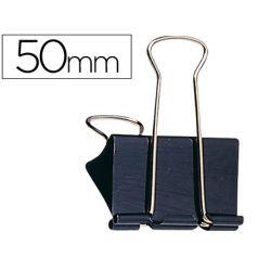 Pince q-connect double clip largeur 51mm boîte carton 10 unités