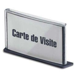 PAPERFLOW Plaque de porte format carte de visite